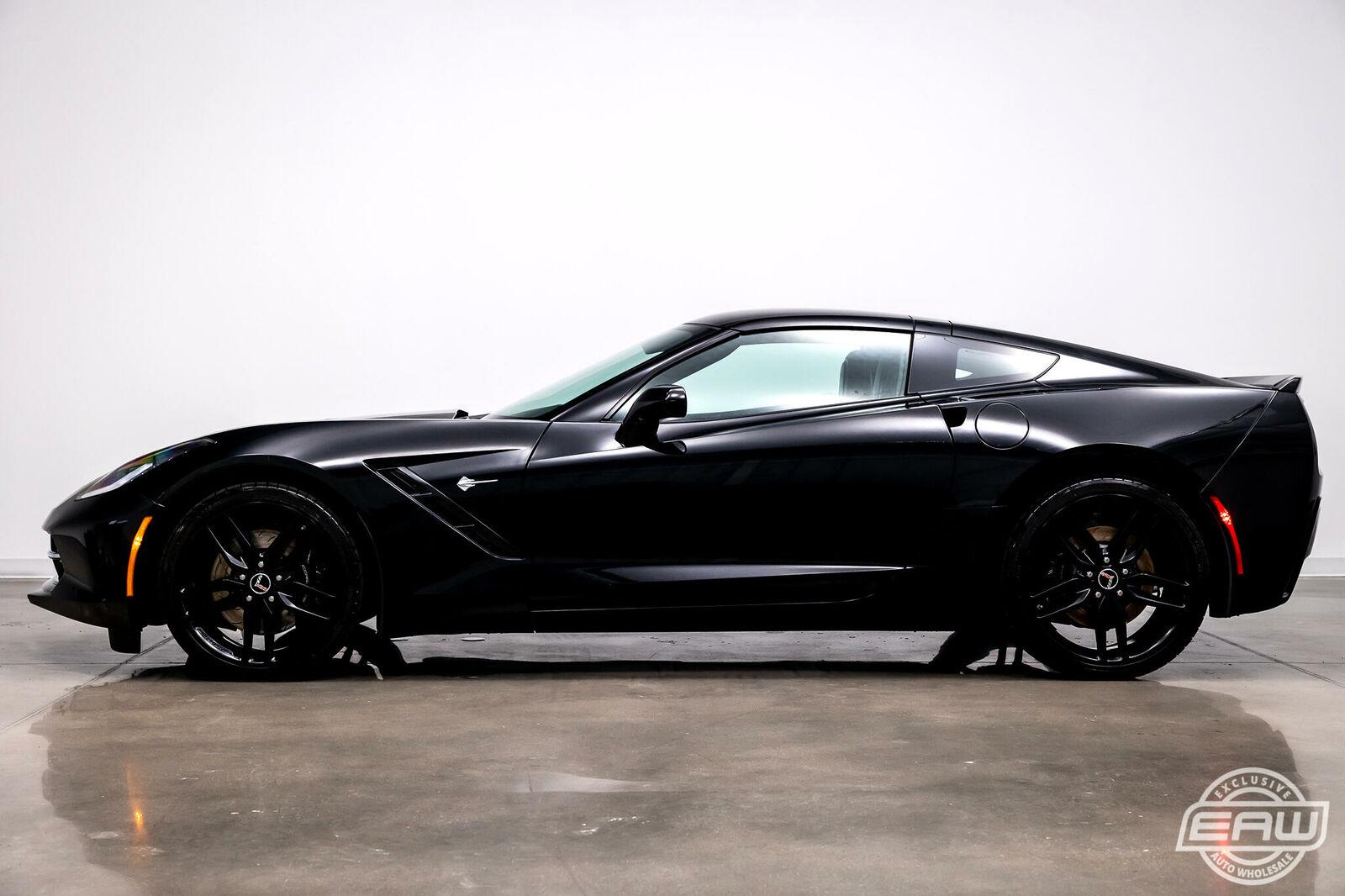 2014 Black Chevrolet Corvette Coupe 1LT | C7 Corvette Photo 6