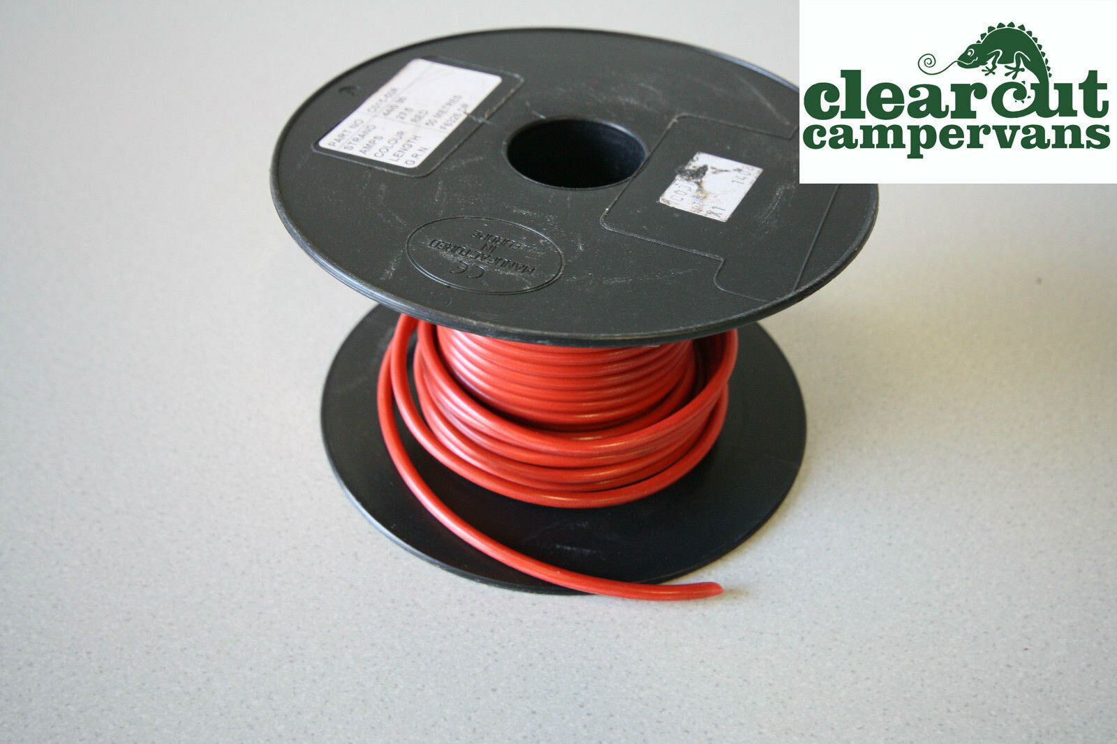 5m X 44 Strand 27 Amp 12v Cable Suitable For Campervan Motorhome Wiring A 10m Red