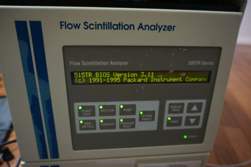 Packard 500TR Series Flow Scintillation Analyzer counter  detector radioactivity