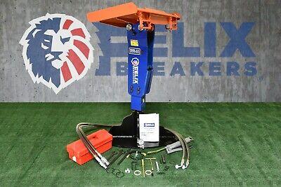 Felix Hydraulic Hammer Breaker 36 Wide Plate Fit To Bobcat S70 Skid Steer Fx-45