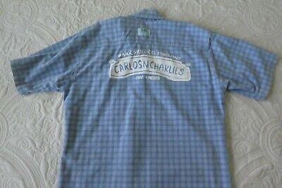 Carlos n Charlie's  Cabo, Mexico, logo button down shirt XL