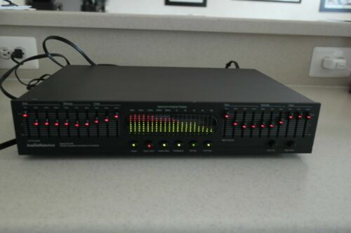 AudioSource Stereo Equalizer Model Eq200 Excellent working condition!