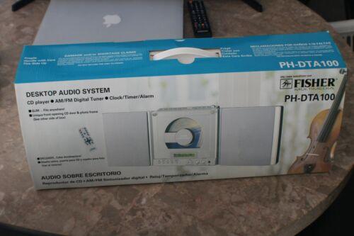 Vintage FISHER Multimedia Desktop Audio System CD Player PH-DTA 100