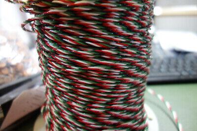 25ft 22 Awg 4 Twisted Quad M168784 600v Ptfeteflon Wire