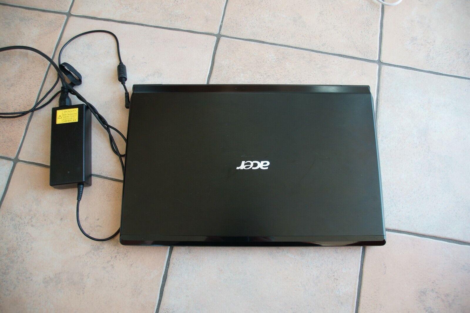 Notebook Acer aspire ethos 8951g,16GB RAM, 2x 512GB SSD Festplatte