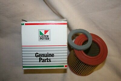 Genuine Lister Petter Air Filter Element 363722 Ac1 Series 2 Ad1 Engines Nos