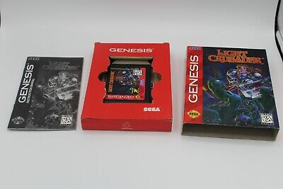 Light Crusader (Sega Genesis) Adventure/RPG by Treasure Complete Tested!  Sega Genesis Rpg Games