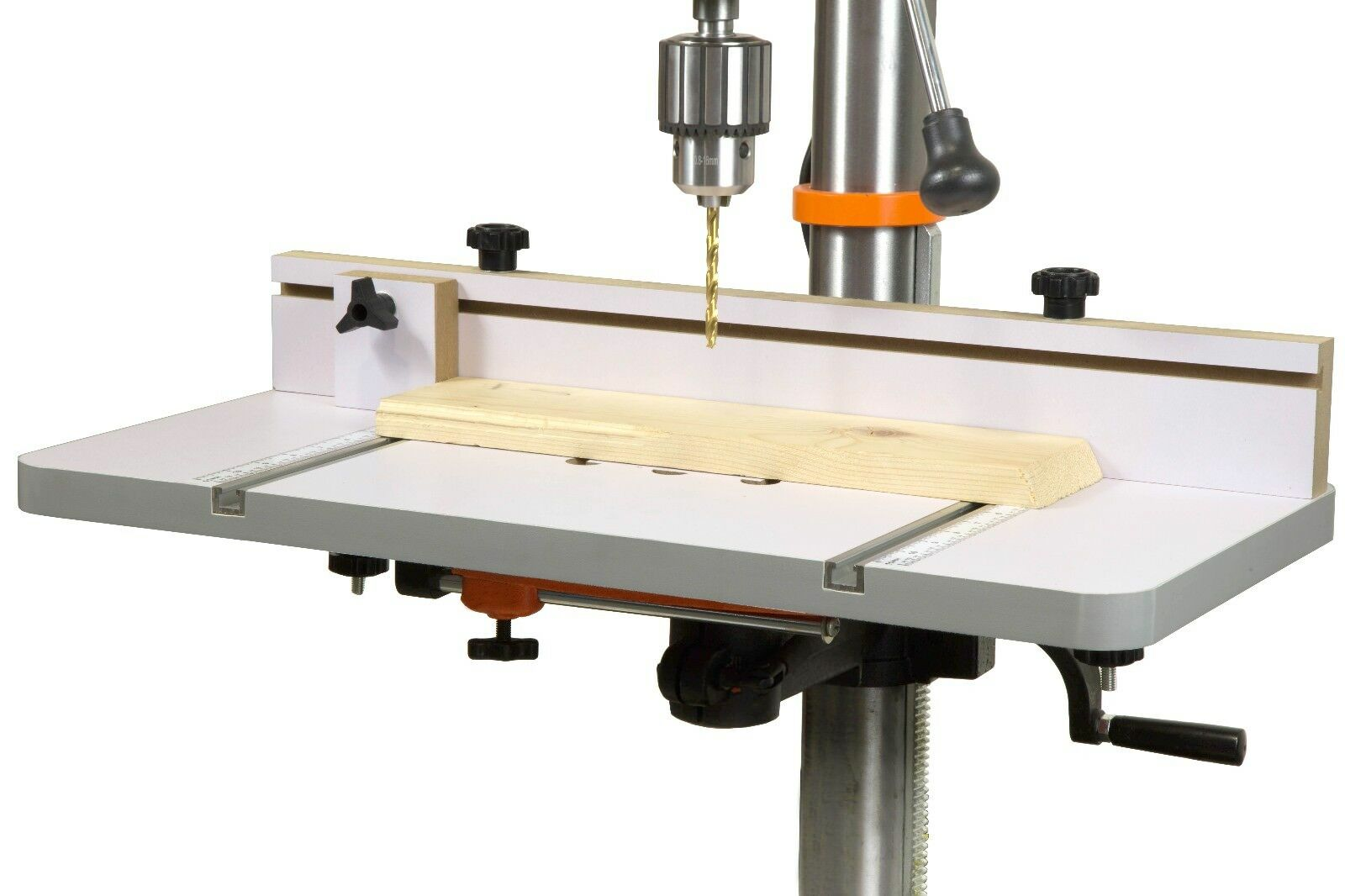 WEN DPA2412T 24 in. x 12 in. Drill Press Table with an Adjus