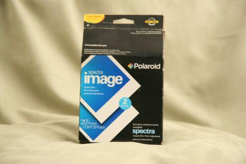 Polaroid Spectra Image Instant Film  2 Pack, 20 Photos ~ Exp 12/08 ~ Sealed