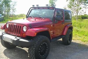Jeep Wrangler Sahara *barre Led* 2013