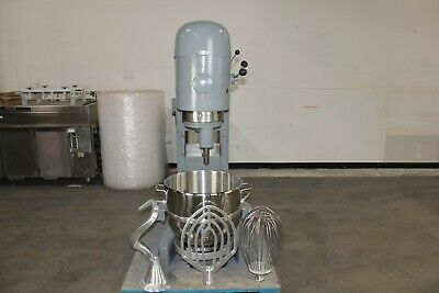 Hobart M-802 80 Qt Quart Mixer W New Whip Paddle Hook Bowl Bakery Commercial