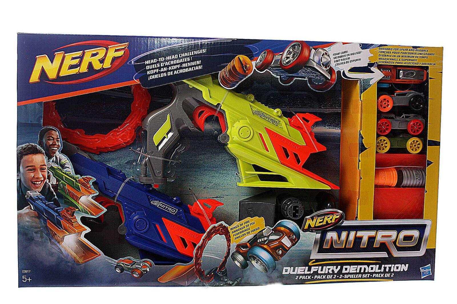 Hasbro Nerf Spielzeug Spielzeugblaster Nitro DuelFury Demolition Fahrzeugblaster
