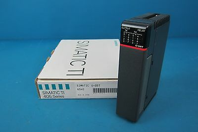Siemens U-05t 405 Series Plc Relay Output Module