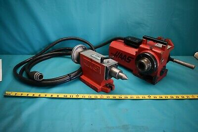 Used Haas 5c Indexer 17 Pin With Haas Tailstock
