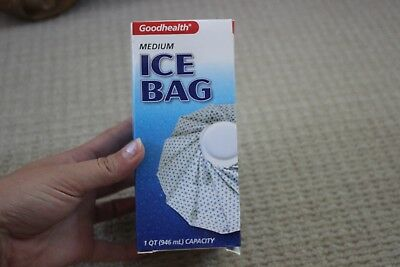 "Top Quality Reusable Ice Bag, Medium Ice Pack Bag 9"" GOOD HEALTH BRAND NEW"