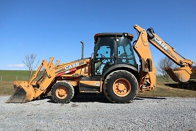 2011 Case 580sn Backhoe Heat Ac Extendahoe 4-stick Control 24 Bucket