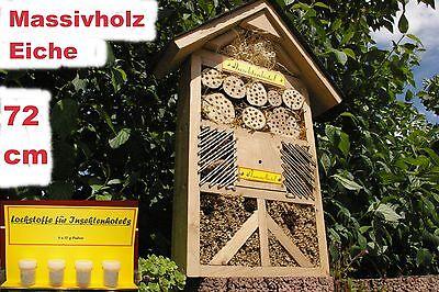 XXXL Insektenhotel/Hummelhotel/für viele Insektenarten/mit Lockstoffen Inkl. !!!