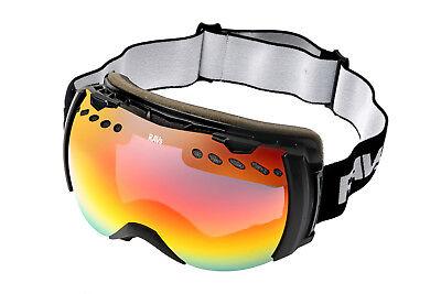 Ravs  Skibrille Schneebrille  Snowboardbrille Gletscherbrille für  Brillenträger