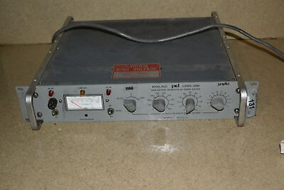 Power Designs Model 2k20 High Voltage Regulated Dc Power Supply Bb