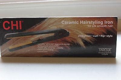"NEW CHI Pro 1"" Ceramic Flat Iron Hair Straightener Hairstyling Professional Iron"