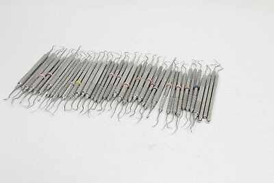 Lot Of 40 Brasseler Dental Tools Explorers Scalers Probes