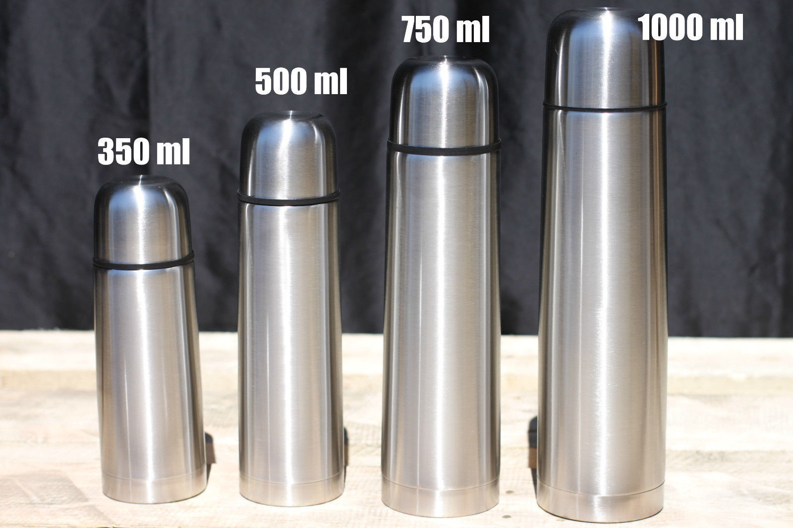 stainless steel vacuum thermos portable camping beverage