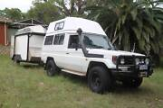 Turbo LandCruiser Camper  Trailer 2004 78 Series Troopcarrier Kirrawee Sutherland Area Preview