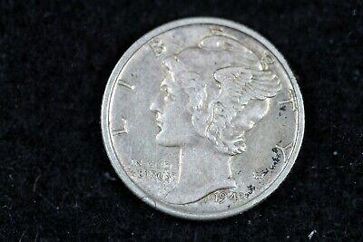 ESTATE FIND 1943 - S Mercury Dime J01967 - $3.00