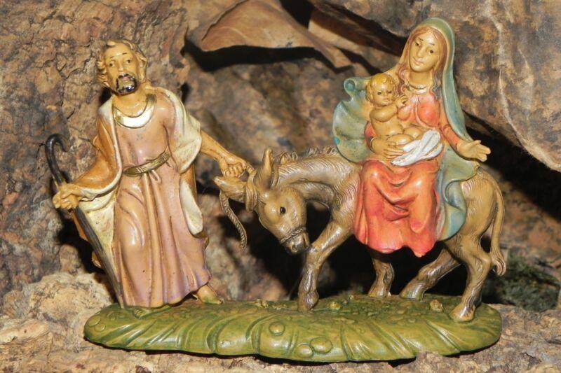 Nativity Scene Figurine Euromarchi Presepio Mary Joseph Figura para Pesebre