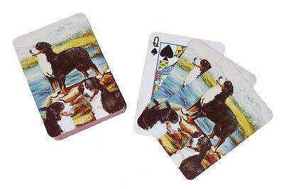 Bernese Mountain Dog Breed of Dog Pack Playing Deck of Cards Game Perfect Gift