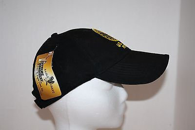 NWT Eagle Crest Extreme Embroidery US Army Retired Black Hat, T-Shirt & Bracelet
