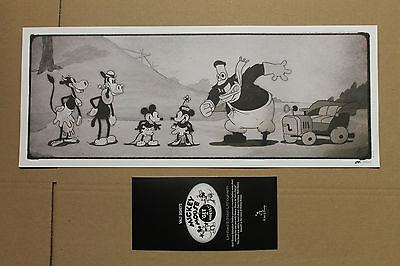 Rarität! Handbemaltes Bild zum Film Get a Horse, Limitierte Edition auf 5000