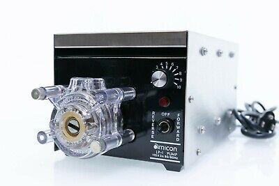 Amicon Bi-directional Peristaltic Pump Lp-1 Cole-parmer Masterflex Head 7018