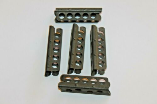 ORIGINAL ENFIELD 303 FIVE ROUND STRIPPER CLIPS SET OF 5 Clips #P1