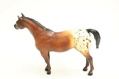 Breyer Brown White Spotted Pony Horse Figure