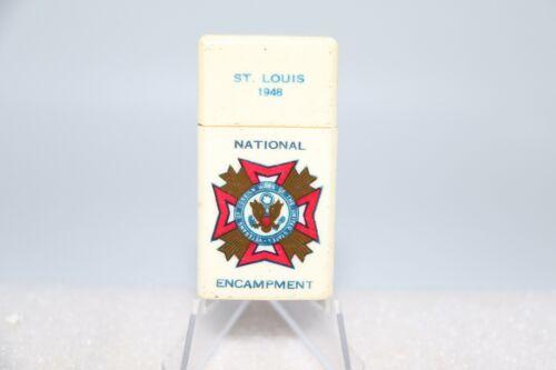 Vintage 1948 St. Louis VFW National Encampment Souvenir Cigarette Lighter