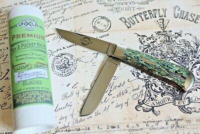 Great Eastern Cutlery Northfield USA 735208 LVS Abalone Trapper Knife NIB 1of 35