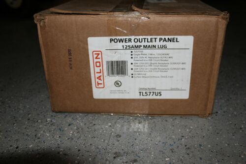 Talon TL577US Power Outlet Panel 125A - OPEN BOX