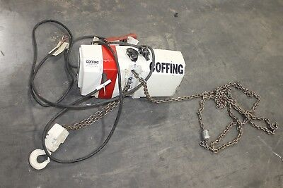 Coffing 2 Ton Chain Hoist