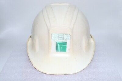 Vintage Apex Poly Guard Hard Hat Seg With Suspension