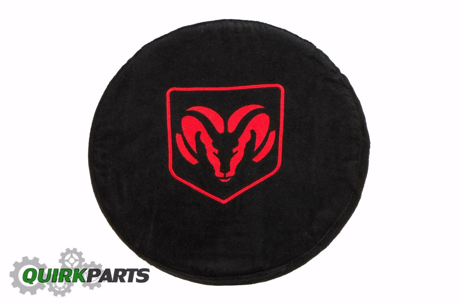 1994-2019 Dodge Ram Black Steering Wheel Cover Armour Protector With Ram Logo
