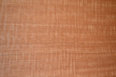 Makore Raw Wood Veneer Sheets 10 X 41 Inches 142nd Thick R7708-34