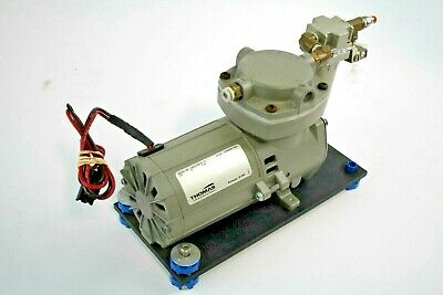 Thomas Compressor Vacuum Pump 415cdc3024 Assembly W Smc Af20 Water Trap