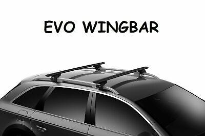 Barre portatutto THULE EVO WINGBAR Nero Volkswagen TIGUAN barre longitudinali
