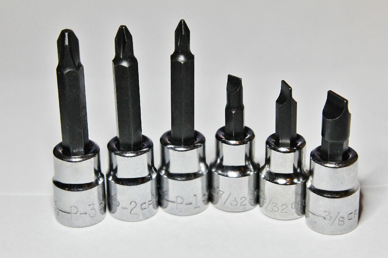 Craftsman 6 Piece  3/8 In. Drive Philips & Slotted Screwdriv