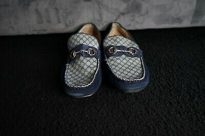 Authentic Mens Gucci Loafer Shoes Mens Size 45