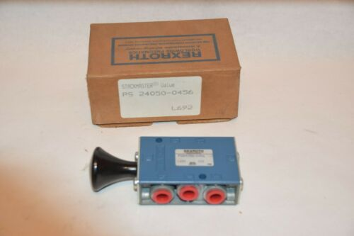 NEW REXROTH PS24050-0456 L692 150psi STACKMASTER VALVE
