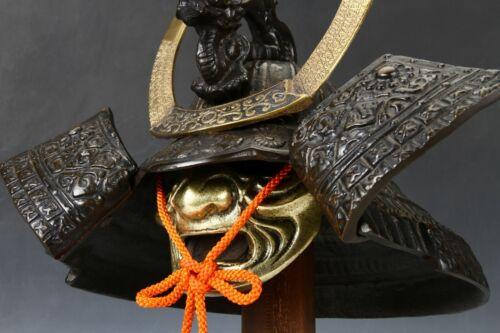 Japanese Stunning Black Samurai Helmet -Genji Dragon Kabuto- Tsushima