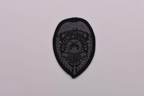Umatilla Oregon Collectible Dept. of Defense Guard Police Patch