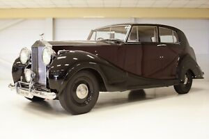 Rolls-Royce Silver Wraith 1950  James Young righthand drive